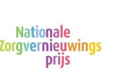 Logo Nationale Zorgvernieuwingsprijs 2016 (groot)